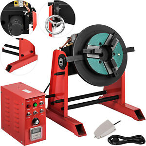 30kg Welding Positioner Turntable Rotary 220v Smooth Good Promotion Great