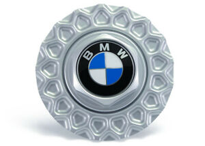 Genuine Bmw E30 Style 5 Bbs Wheel Center Hub Caps Cover 171mm Silver