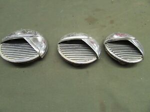 1951 52 Buick Special Passenger Side Port Holes Set Of 3 Used Rat Rod