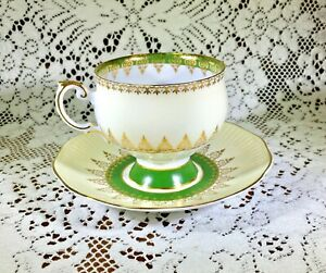 Vintage Rosina Teacup And Saucer Set English