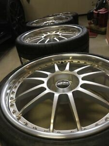 Is F Oz Racing Wheels 20 3 Piece Isf Gsf Rcf 20 X8 5 20 X10 Michilin Pilots