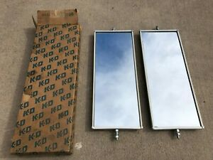 Vintage Kd Mirrors Nos Perfect In Every Way Like West Coast Truck Mirror 89