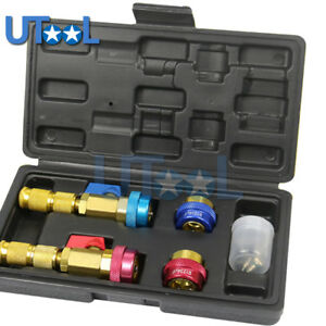 R134a R1234yf Quick Valve Core Remover Installer Tool High Low Pressure Tool