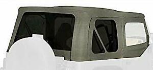 Rampage Products 68211 Complete Soft Top For 1987 1995 Jeep Wrangler Yj