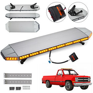 Amber 88w Led Strobe Light Beacon 1200mm Tow Truck Emergency Amber
