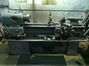 Coldchester Clausing 15 X 48 Geared Head Precision Lathe 2 1 16 Spindle