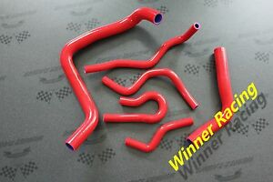 Silicone Radiator Heater Hose For Acura Integra Type R Dc2 B18c 1994 2001 Red