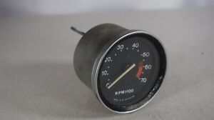Smiths Tachometer Rvc1414 00f 4cyl 12v For Mg Midget 1500 7000 Rpm Made In Uk