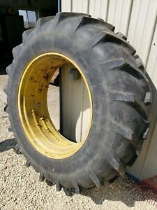 18 4 X 38 Tire And Wheel John Deere Ih Massey Oliver Ford Case