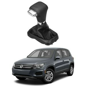 Automatic Gear Shift Knob Handle Stick With Boot Cover For Vw Passat Tiguan Bora