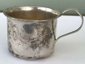 Webster Sterling Silver Baby Cup 4523 No Engraving