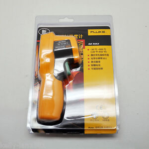 1pcs Fluke 62 Max Plus Dual Laser Infrared Thermometer F62 Max