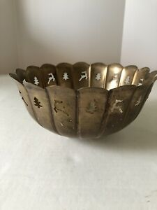 International Silver Co Candy Fruit Bowl Made In India