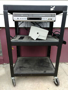 Vti Av Cart With 20 Feet Power Strip