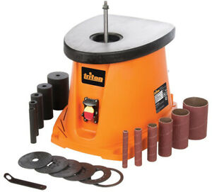 Oscillating Spindle Sander 110 Volt L 450 Watt Motor Power Switch W Dust Cover