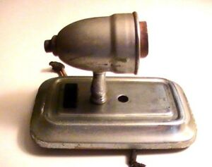 Vintage Chrome Art Deco Retro Looking Wall Sconce Nice