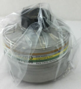 Gas Mask Filter New 40mm Military grade Nbc cbrn made In 09 2018 Exp 09 2023
