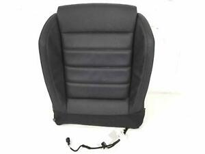 Front Seat Cushion 5gm881375j Vw Gti 15 17 Lh Driver Black Leather Manual Heated