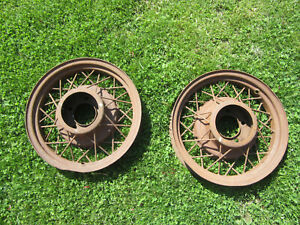 1935 Ford Wire Wheels 17 X 3 1 4 1932 1933 1934 Hot Rat Rod