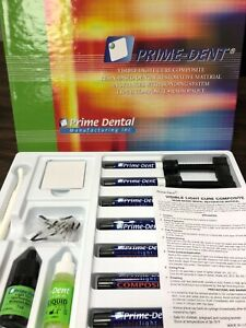 Light Cure Hybrid Composite 7 Syringe Kit Prime dent