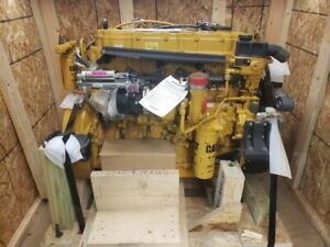 Cat Acert C7 Industrial Diesel Engine 370 Hp 7 2l 6 Cylinder 4 stroke Turbo
