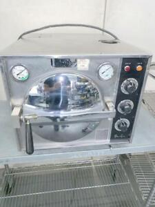 Pelton And Crane Omniclave Omni clave Ocr Autoclave Steam Sterilizer With Trays