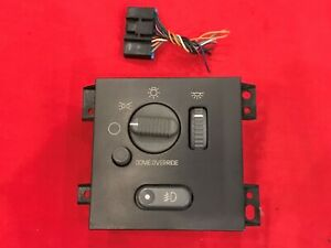 Chevy S10 Blazer Gmc Jimmy Sonoma Headlight Fog Light Lamp Switch 98 05