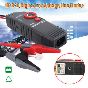 Noyafa Nf 820 High low Voltage Cable Tester Underground Cable Finder Bnc G0