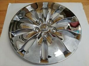 16 New Chrome Hubcaps Wheelcovers For Honda Accord 08 12 4 Better Than Oem