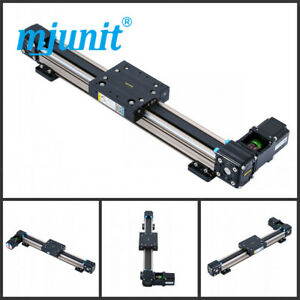 Mjunit Mj50 900mm Stroke Fully Supported Cnc Router Linear Motion Rail Steel Sha
