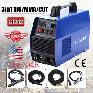 3 In 1 Multi Plasma Cutter Tig Mma Welder Cutting Welding Machine Ct 312