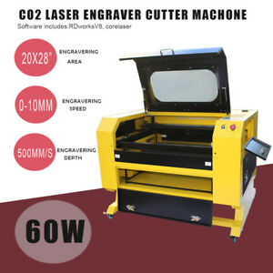 Co2 Laser Engraving Cutting Machine Engraver Cutter Usb Port