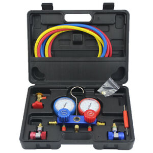 Refrigeration Air Conditioning Manifold Gauge Set Maintenance Tools R134a