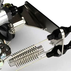 Throttle Cable Bracket Holley Sniper Black