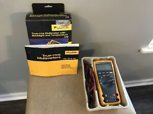Used Fluke 179 True Rms Digital Multimeter Free Shipping To Usa