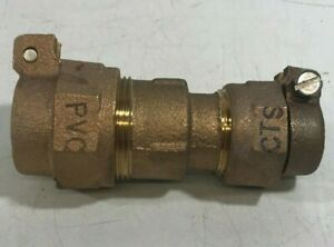 Brass Compression Fitting 3 4 Cts To 3 4 Pvc New