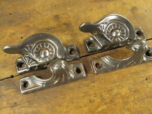 One Pair Antique Window Sash Locks