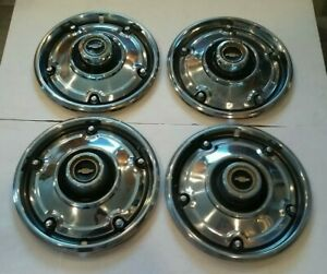 Chevrolet Pickup Truck Hubcap Set 1973 1979