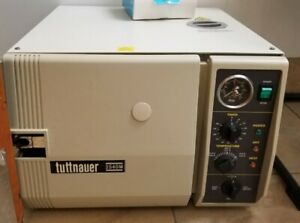 Great Used Tuttnauer 2540m Autoclave Steam Sterilizer For Instruments