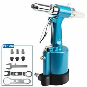 Heavy Duty Air Hydraulic Riveter professional Pop Pneumatic Riveting Gun Rivet T
