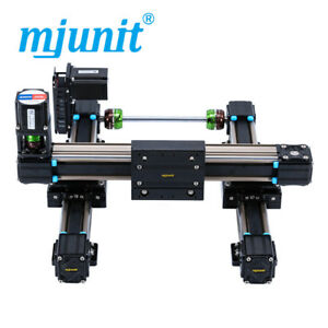 Mjunit Xy 2 axis Cnc Small Linear Rail With 200x200mm Stroke Length