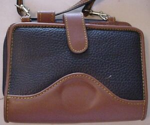 Shihmark Daily Planner Leather W Calculator Zippered Purse Compartment Shoulder
