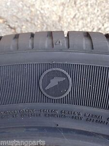 Nos New 2008 2009 Ford Mustang Shelby Gt500kr Goodyear Eagle F1 Tire Set Oem