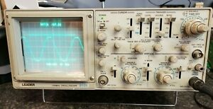 Leader 8101 Oscilloscope