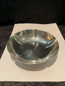 Vintage Randahl Sterling Silver 6in Berry Candy Bowl Mid Century Modern 5 16oz
