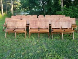 Antique Folding Church Chairs Theater Seats Stadium Seats Train Station Benches
