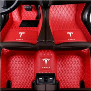 For Tesla 3 s x 2012 2019 All Models Luxury Custom Waterproof Car Floor Mats
