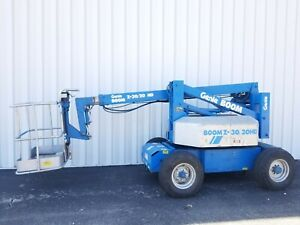 Genie Boom Lift Z30 20hd Electric Driveable Articulating Platform 31ft