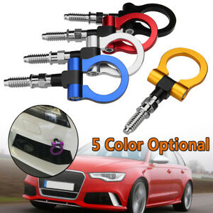 Auto Racing Trailer Ring Tow Towing Hook For Bmw Mercedes Benz Audi European