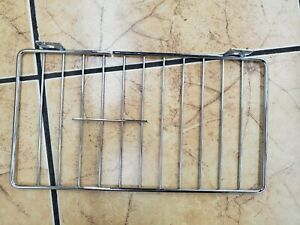 Gondola Shelf Wire Fence 6 H X 11 L Lozier Madix Chrome Finish 25 Pieces